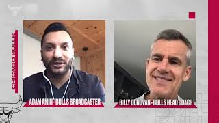 ONE-ON-ONE Conversation with Billy Donovan | Chicago Bulls
