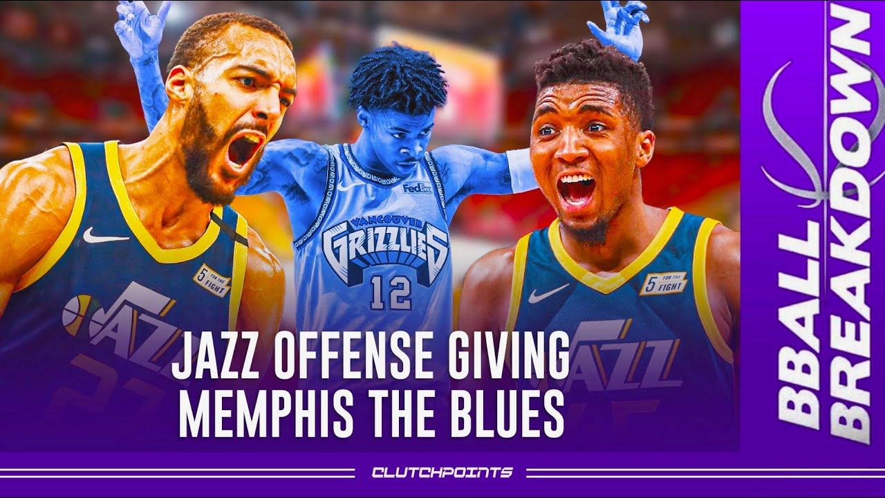 Jazz offense giving Memphis the blues, a (game 2) breakdown
