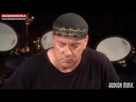 Neil Peart: Checking The 30th Anniversary DW Kit