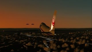 FS2004 - An Out of This World Encounter (Japan Air Lines Flight 1628)