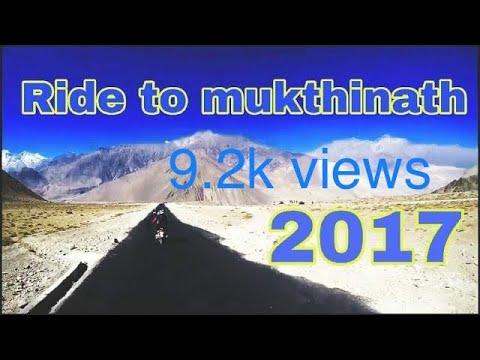 Muktinath to kagbeni new road