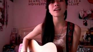 china girl美女吉他演奏独唱版CAll me maybe