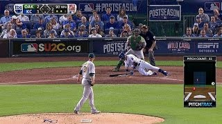 Infante goes down swinging -- literally