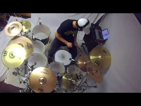 Get Up - Planet Shakers - Drum Cover by Collin Rayner
