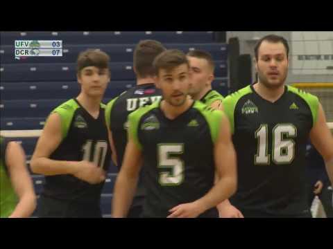 UFV Cascades vs Douglas Royals - 2017 PACWEST Men's Volleyball Championship Finals Bronze Medal Game