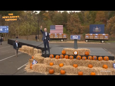 Biden spewing the same lies over again in Bristol, PA.