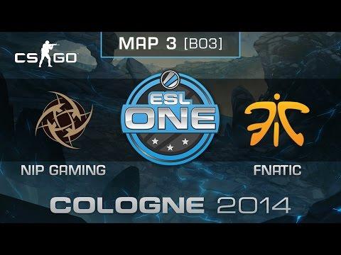NiP Gaming vs. Fnatic (Map 3) - ESL One Cologne 2014 - Grand Final - CS:GO