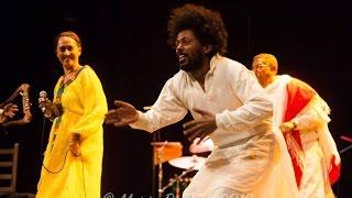 Fendika Cultural Dance Groups Performing On Stage - ፈንዲቃ የባህላዊ የጭፈራ ቡድን በመድረርክ ላይ ስራቸውን ሲያቀርቡ