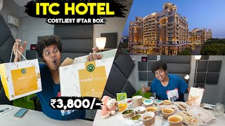 What's inside ITC CHOLA Iftar Box - Most EXPENSIVE 3800₹ - Five Star Hotel | Irfan's View