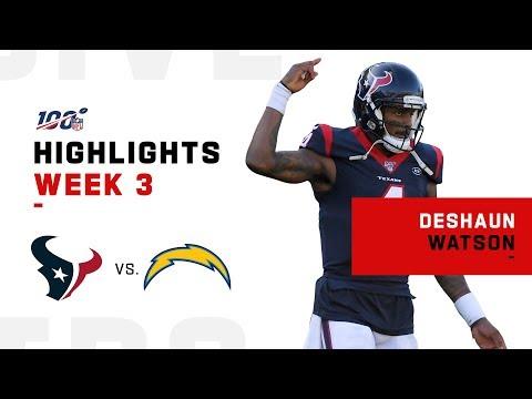 Deshaun Watson Finishes w/ 351 Yds & 3 TDs | NFL 2019 Highlights