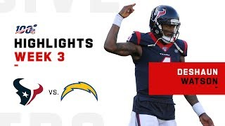 Deshaun Watson Finishes w/ 351 Yds & 3 TDs | NFL 2019 Highlights