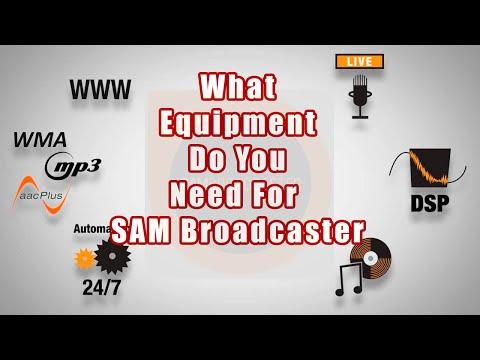 SAM Broadcaster-What Equipment Do I Need? - A SAM Broadcaster Tutorial