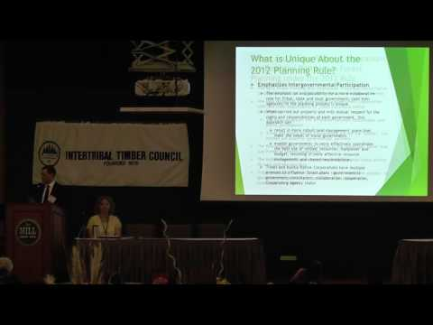 2012 USFS Forest Planning Rule implementation Update - Willi