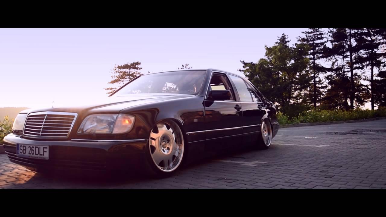 Vip Bagged Mercedes S Klasse W140 Youtube