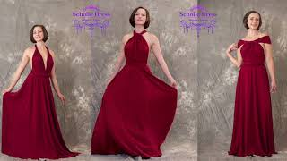 ScholleDress |15+ Ways to Wear the  Infinity/Convertible Dress