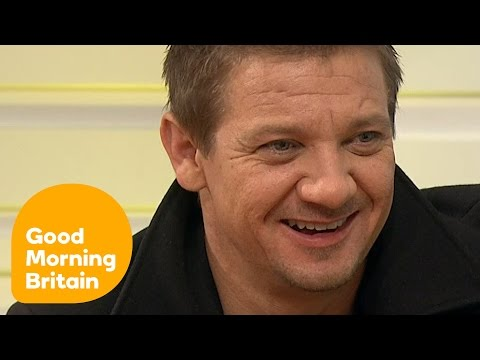 Jeremy Renner On 'Disgusting' Presidential Race And His New Film Arrival | Good Morning Britain