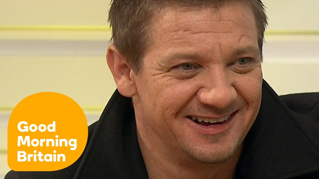 jeremy renner on disgusting presidential race and his new film jeremy renner on disgusting presidential race and his new film arrival good morning britain