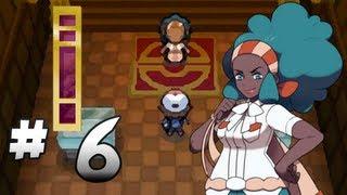 Let's Play Pokemon: Black - Part 6 - Nacrene Gym Leader Lenora