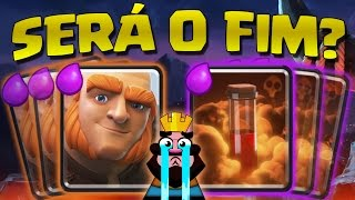 UPDATE on CLASH ROYALE: it's the end of the giant and the poison?