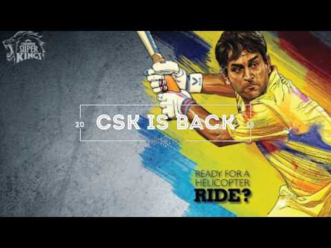 IPL 2018 chenni super kings full squad CSK Retruns full team player list Dhoni Raina