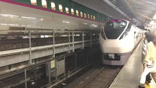 JR東日本常磐線E657系[特急]ひたち22号離站(東京)