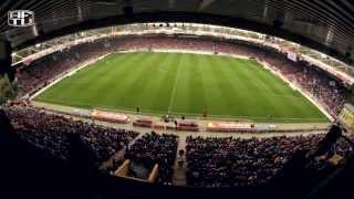 Fanprotest beim Spiel gegen Leipzig