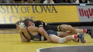 Penn State at Iowa - Wrestling Highlights