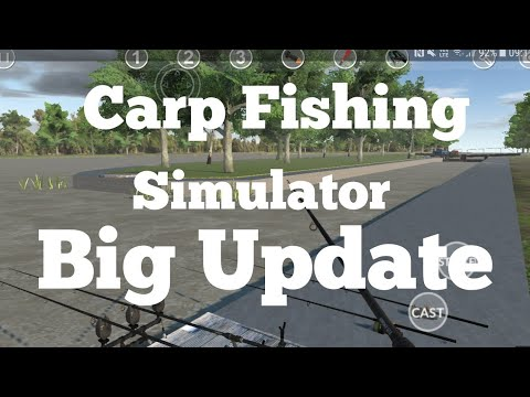 Carp Fishing Simulator - V 1.9.8.7 Gameplay Footage
