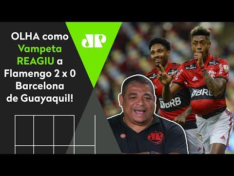 """Download """"COMO PODE?!"""" OLHA como Vampeta REAGIU a Flamengo 2 x 0 Barcelona-EQU!"""