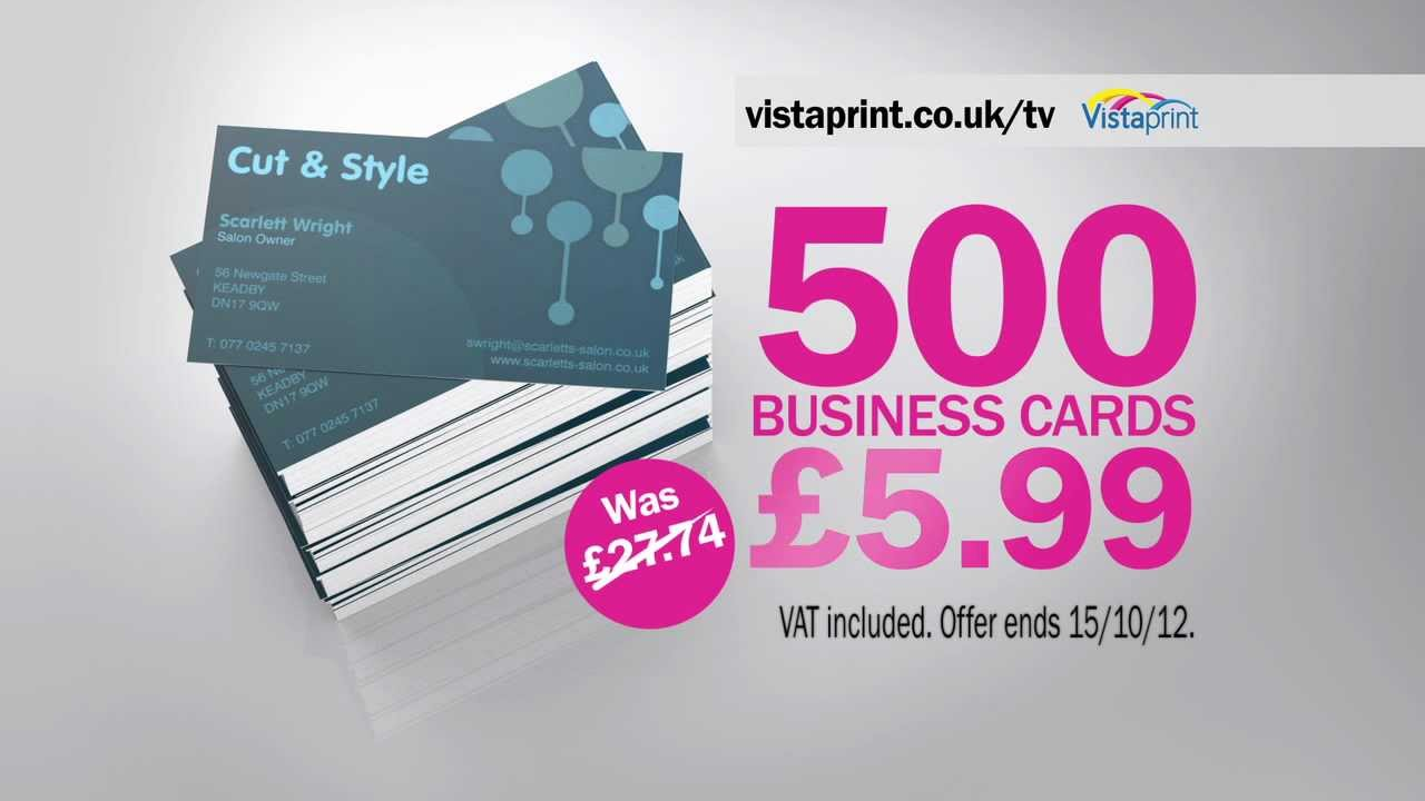 Vistaprint TV Advert UK in HD - Hairdresser - YouTube
