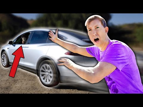 TESLA STOLEN by HACKER in HAUNTED ABANDONED TOWN (Treasure Hunt Adventure Challenge)