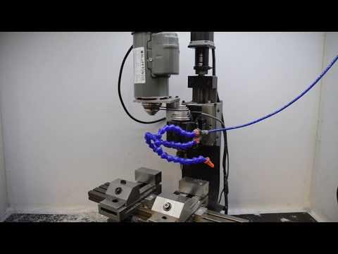 Taig Mill CNC Conversion TinyG/GRBL And Chilipeppr