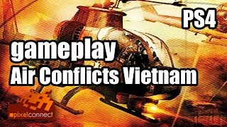 Gameplay PS4-Flop: Air Conflicts Vietnam // Playstation 4 [deutsch HD 1080p]
