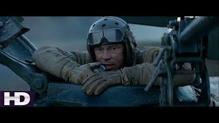 Fury [2014] Attack Scene (HD) | Fury Savaş Sahnesi | Türkçe Altyazılı