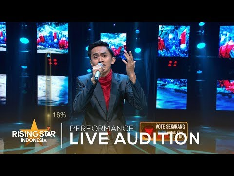 Andhika Irwan - End Of The Road   Live Audition 6   Rising Star Indonesia 2019
