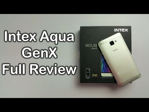 Intex Aqua GenX Review Videos