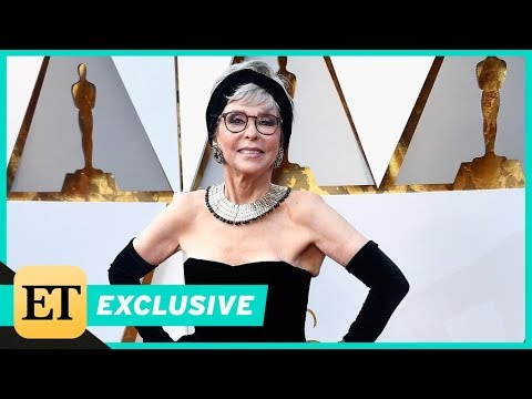 Rita Moreno on Recycling Her 1962 Oscars Gown for the 90th Academy Awards Exclusive