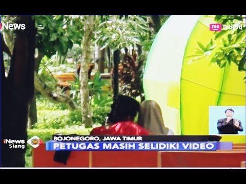 VIRAL! Video CCTV Adegan Mesum Pelajar di Alun-alun Bojonegoro - iNews Siang 12/02