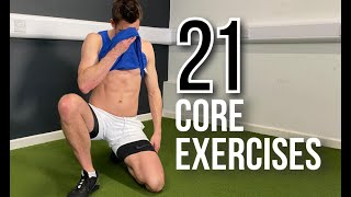 FITNESS FOR CRICKET: 21 Core Exercises