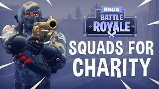 Squads For Charity! - Fortnite Battle Royale Gameplay - Ninja thumbnail