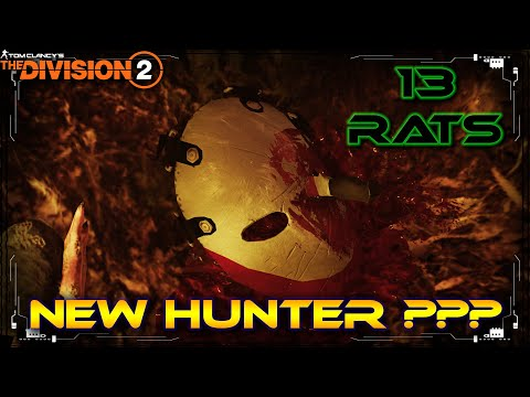 The Division 2 New Friday The 13th Hunter Mask??? 13 Green Rats!! Coney Island Amusement Park Hunter