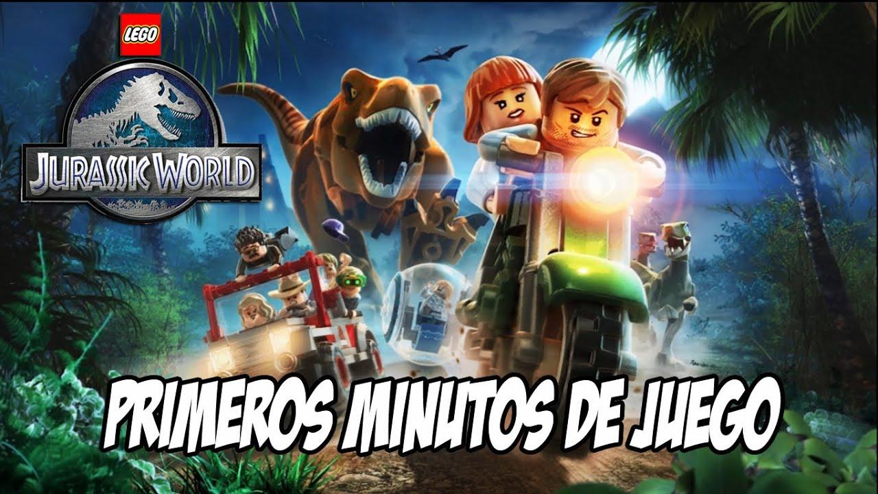 Lego Jurassic World Primeros Minutos De Juego Xbox 360 Youtube