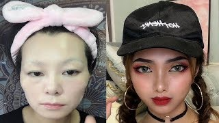 Best VIRAL Asian Makeup Transformations 2019 😱 Asian Makeup Tutorials Compilation / part 15