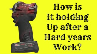 Milwaukee Tools 3/8 Stubby Impact and How it's Held Up After One Year of Use