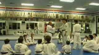 1 Step Sparring Lecture and Training 03/10/2010 by GrandMaster Hae Man Park