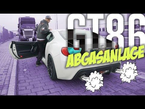 JP Performance – Toyota GT86 Abgasanlage