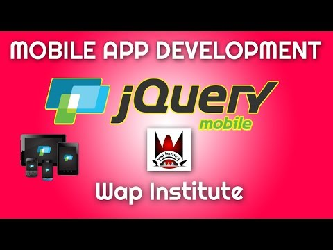 jquery mobile app development part 1 hosted by wap institute powered by sweetus media thumbnail