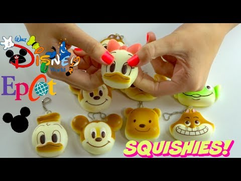 Squishy Hunting : WE FOUND SQUISHIES AT DISNEY WORLD IN EPCOT! SQUISHY HUNTING VLOG AND HAUL - YouTube