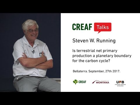 CREAF Talks: S.W. Running: Terrestrial net primary production and carbon cycle
