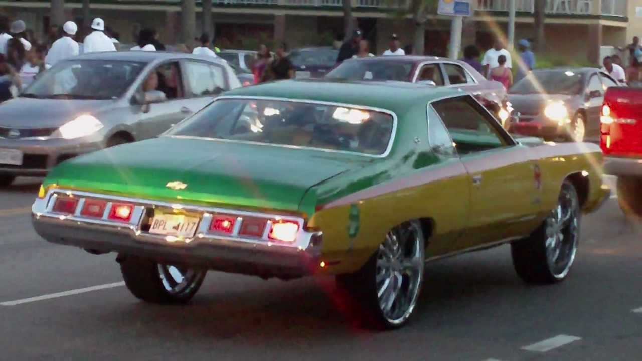 Chevy Quarter Panel Crossed Flags Emblems Impala 1961